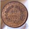 10 Centimes Cérès 1873 A Paris