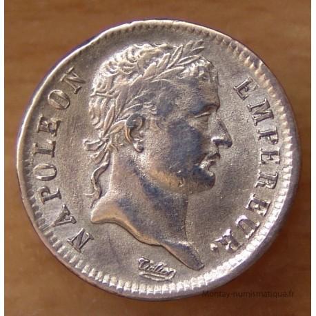 1 Franc Napoleon I République 1808 D Lyon