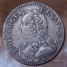 Louis XV 1/5 eme écu 1728 D Lyon aux branches d'olivier