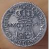 Louis XV 1/6 éme Ecu de France Navarre 1719 D Lyon