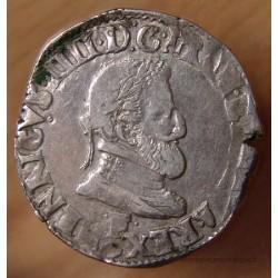 Henri IV Demi Franc 1600 F Angers