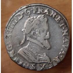 Henri IV Demi Franc 1603 S Troyes