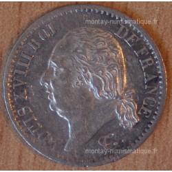 1/4 de Franc Louis XVIII 1819 A Paris