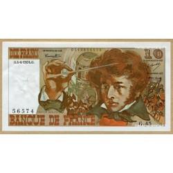 10 Francs Berlioz 4-4-1974 G.45