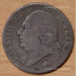 2 Francs Louis XVIII 1819 Q Perpignan