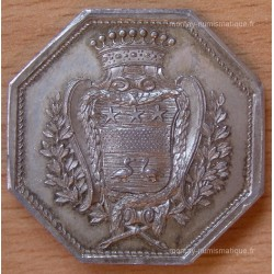 jeton Normandie Ch Robert Boutin 1766 Intendant des Finances