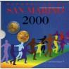 San Marin Série fdc 2000