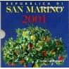 San Marin Série fdc 2001