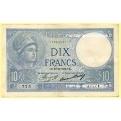 10 Francs Minerve 17-12-1936 J.68019