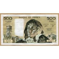 500 Francs Pascal 3-4-1985 H.229