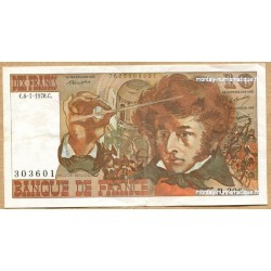 10 Francs Berlioz 6-7-1978 B.306